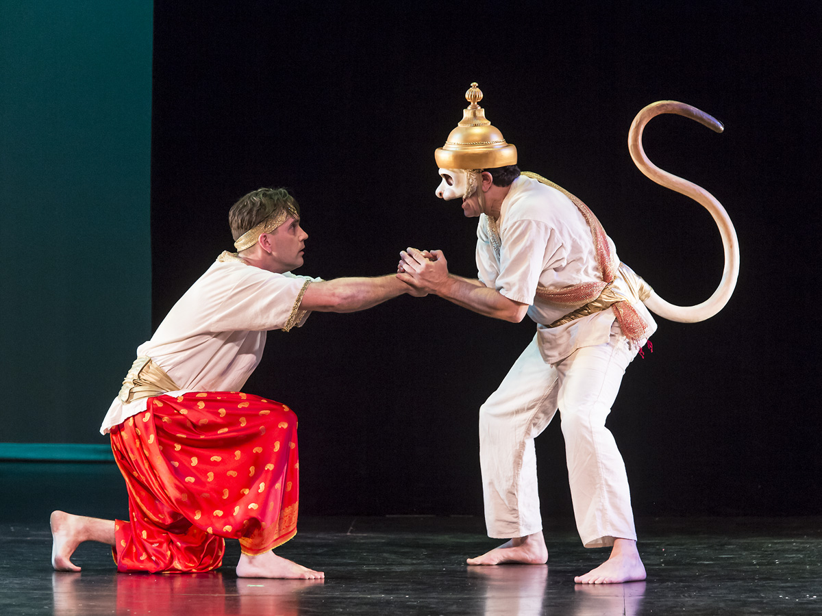 Prince Rama and the Monkey King | Boxtales Theatre Company